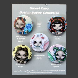 Sweet Fairy Badge Set