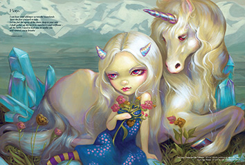Fiona From Strangeling  - The Art Of Jasmine Becket-Griffith