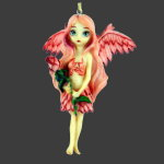 OUT OF STOCK! Pale Rose Fairy