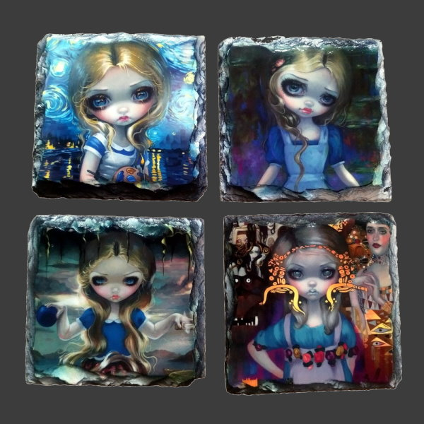 Alice Coaster Set